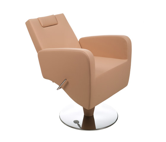 Bliss   Styling Salon Chair by GAMMA & BROSS   Barber chairs
