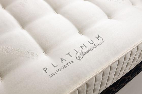 Literie Collection Platinum | Matelas Silhouette Samarkand de Treca Paris | Matelas