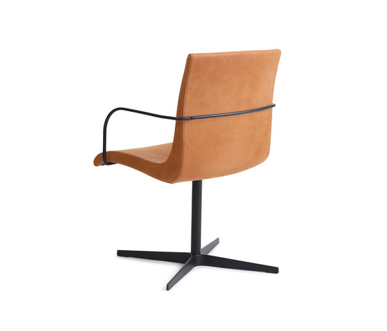 Curves | chair one by Erik Bagger Furniture | Visitors chairs / Side chairs