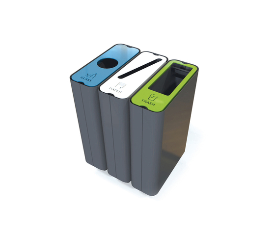 Radius Recycle Bin by Green Furniture Concept | Plant pots