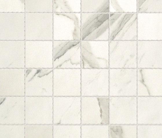 Roma Statuario Macromosaico di Fap Ceramiche | Mosaici ceramica