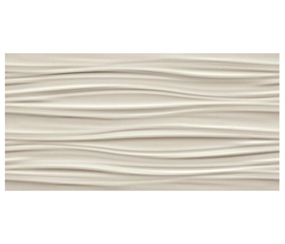 3D Wall Ribbon Sand de Atlas Concorde | Baldosas de cerámica