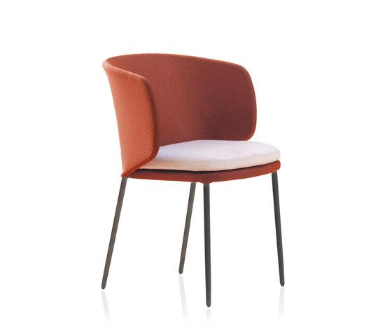 Senso Chairs Sedia con braccioli di Expormim | Sedie visitatori