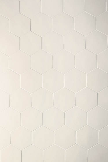 Phenomenon hexagon white de Ceramiche Mutina | Mosaïques céramique