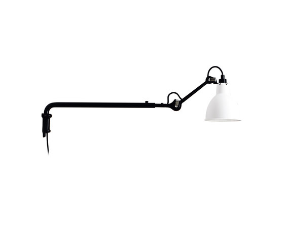 lampe gras n 203 white iluminaci n general de dcw ditions architonic. Black Bedroom Furniture Sets. Home Design Ideas