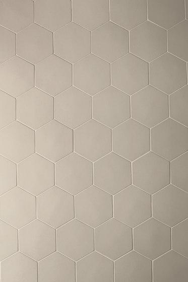 Phenomenon hexagon grey de Ceramiche Mutina | Mosaïques céramique