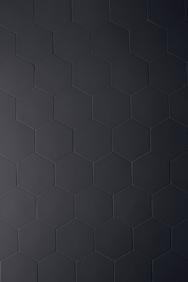 Phenomenon hexagon black von Ceramiche Mutina | Keramik Mosaike