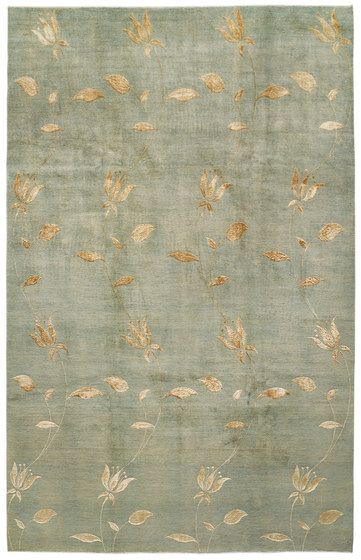 Designer Isfahan Celadon 3 by Zollanvari | Rugs / Designer rugs
