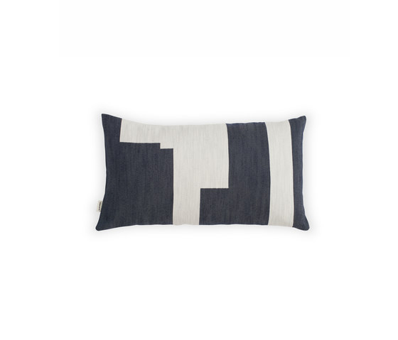 Graphic Cushion Marine Blue | Small by NEW WORKS | Cushions