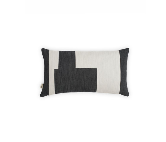 Graphic Cushion Black | Small by NEW WORKS | Cushions