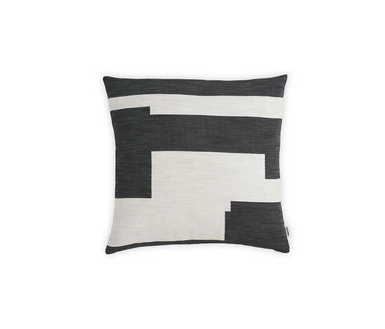 Graphic Cushion Black | Large by NEW WORKS | Cushions