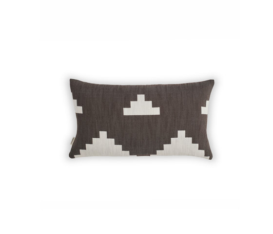 Ikat Cushion Dark Brown | Small by NEW WORKS | Cushions