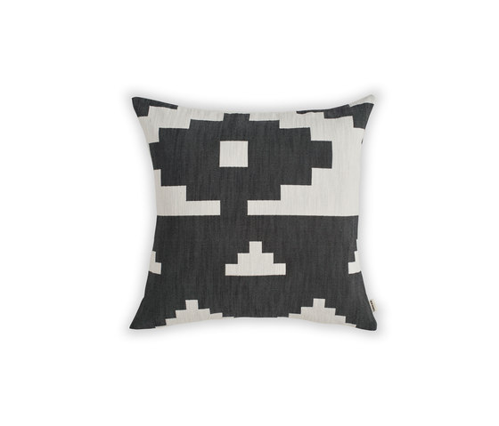 Ikat Cushion Black | Large by NEW WORKS | Cushions
