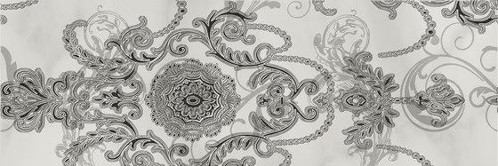 Decor piaget blanco mate (Set 2 Pz) de KERABEN | Carrelage céramique