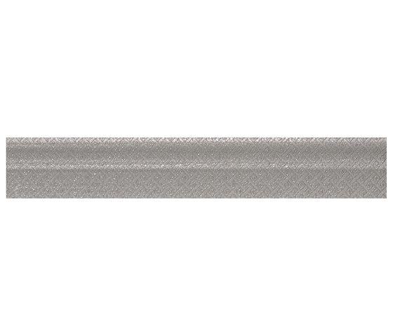 Evoque Listelo Piaget Silver de KERABEN | Carrelage céramique