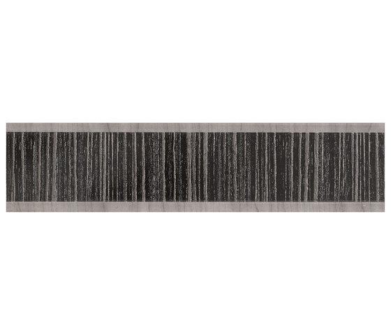 Evoque Listelo kuban Black von KERABEN | Keramik Fliesen