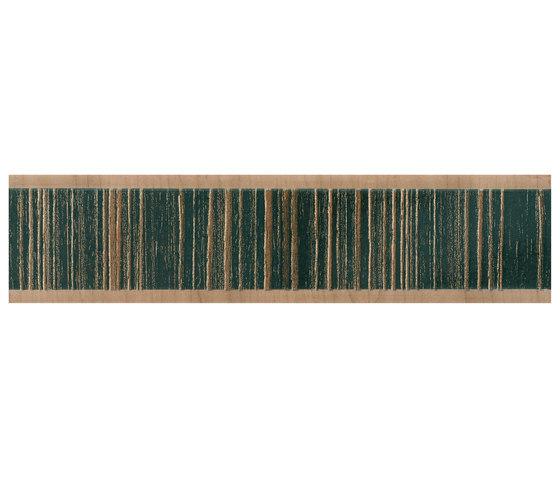 Evoque Listelo Kuban Brown de KERABEN | Baldosas de cerámica