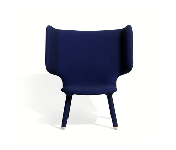Tembo Lounge Chair Uniform Melange by NEW WORKS | Armchairs