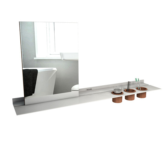 Mirror by Strackk | Bath shelves