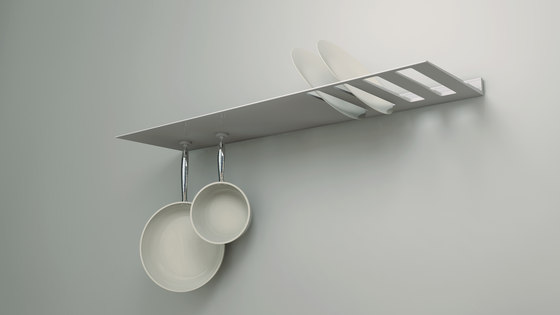 Plate shelf by Strackk | Shelving
