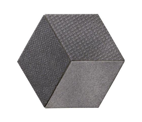 Tex black by Ceramiche Mutina | Ceramic mosaics