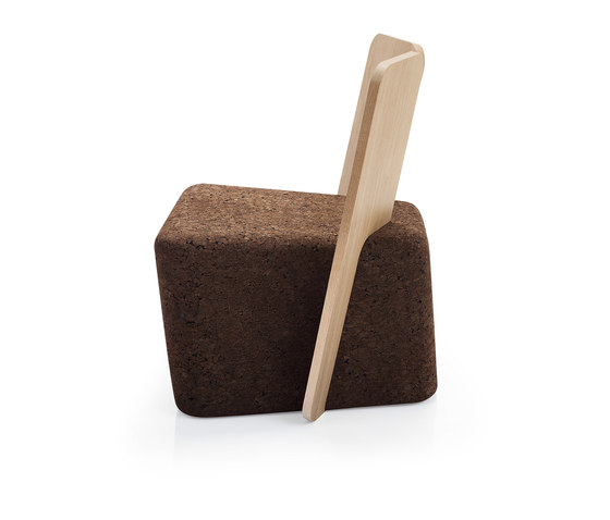 Cut Lounge Chair de Blackcork | Sillas