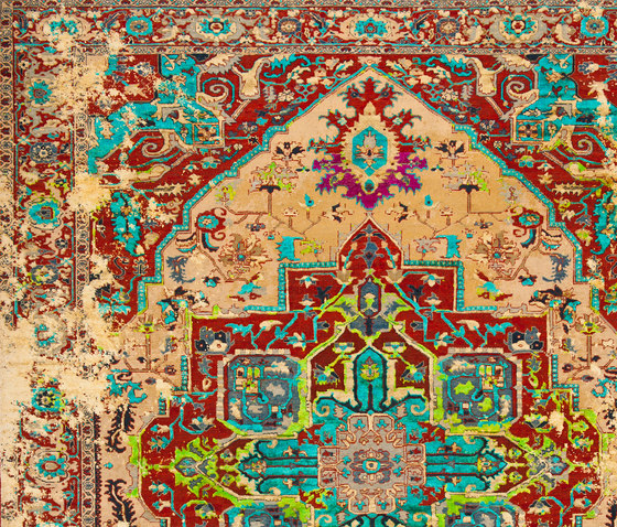 Erased Heritage | Serapi Westminster Fire by Jan Kath | Rugs