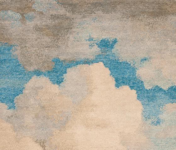 Heiter bis bewölkt | Cloud 1 von Jan Kath | Formatteppiche / Designerteppiche