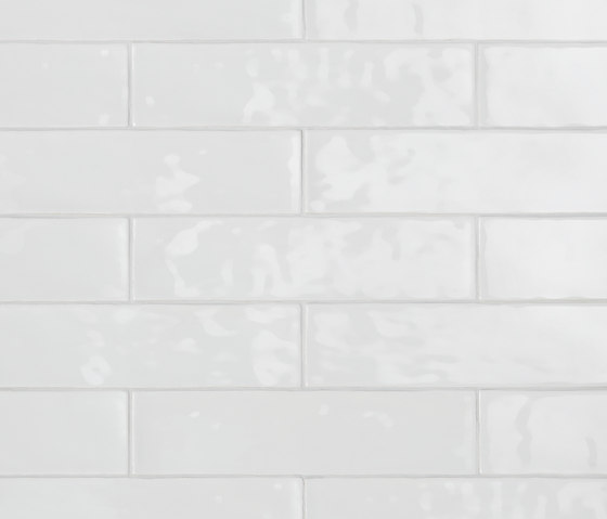 Betonbrick Wall White Glossy di TERRATINTA GROUP | Piastrelle ceramica