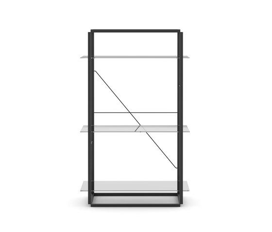Florence Shelf Iron Black | Medium by NEW WORKS | Shelving
