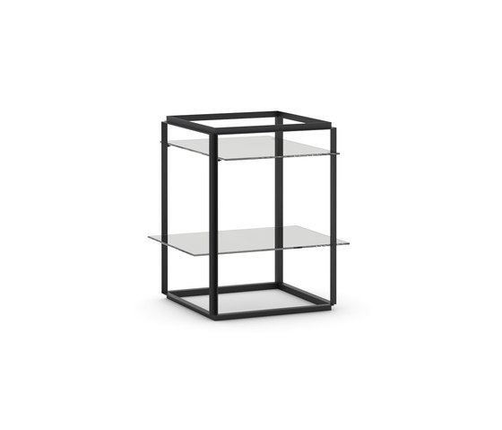 Florence Side Table Iron Black | Small by NEW WORKS | Side tables