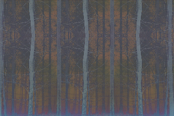 Pixelation Forest by GLAMORA | Bespoke wall coverings