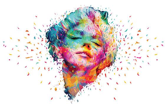 Abstract Colors Marilyn de GLAMORA | A medida
