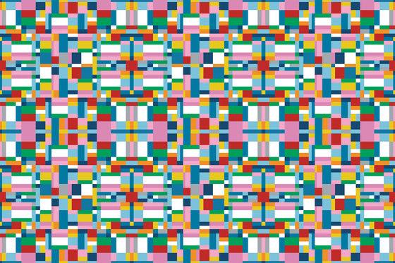 Colour Blocking Map di GLAMORA | Rivestimenti su misura