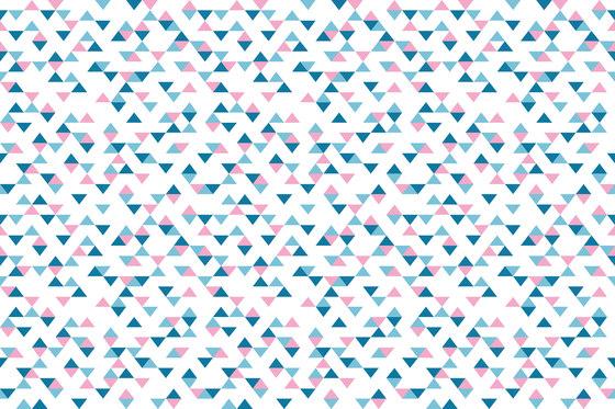 Colour Blocking Triangles di GLAMORA | Rivestimenti su misura