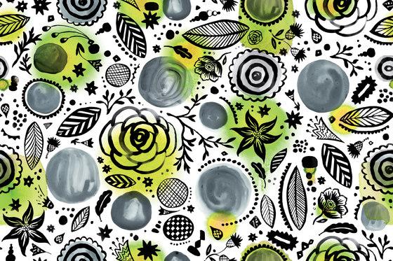 Symbiosis Walldoodle by GLAMORA | Bespoke wall coverings