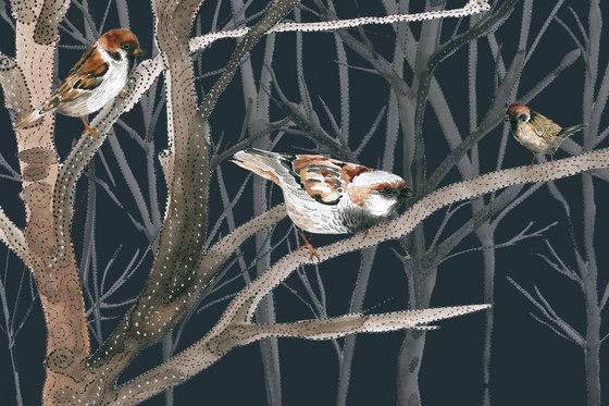 Sweet Little Dots Wintervogel von GLAMORA | Wandbeläge