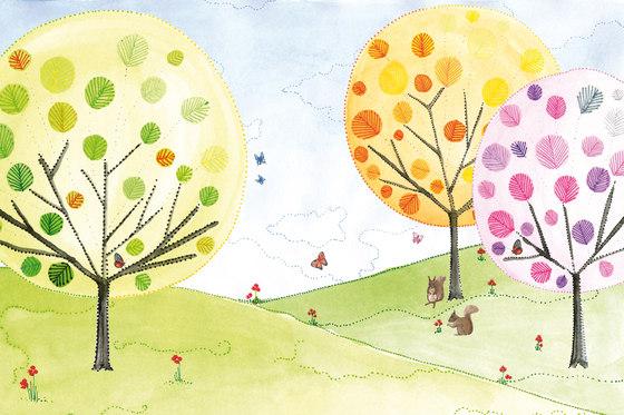 Sweet Little Dots Paisaje by GLAMORA | Bespoke wall coverings