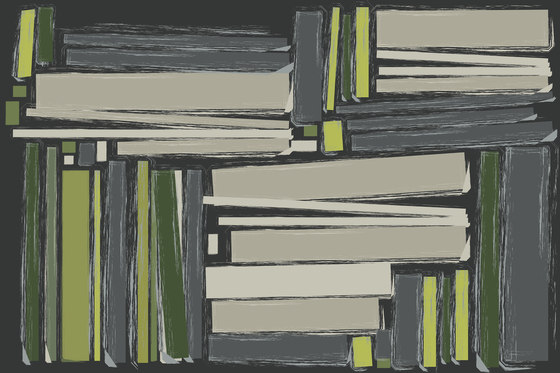 Colour In-Sight Books von GLAMORA | Wandbeläge