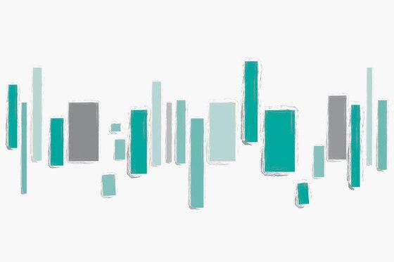 Colour In-Sight Skyline von GLAMORA | Wandbeläge