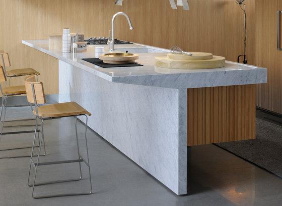 Lignum et Lapis ambiente 2 by Arclinea   Island kitchens