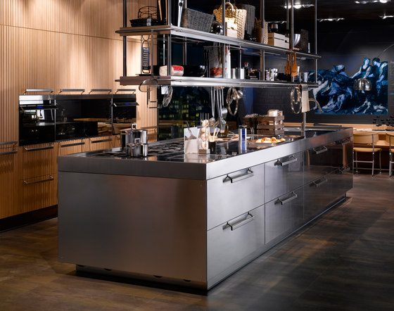 Lignum et Lapis ambiente 3 by Arclinea | Fitted kitchens