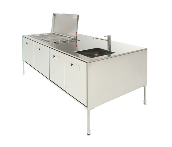 Artusi Outdoor by Arclinea | Compact outdoor kitchens