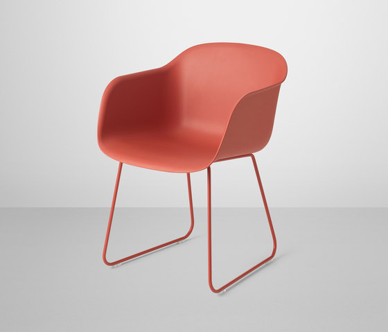 Fiber Armchair | sled base by Muuto | Visitors chairs / Side chairs