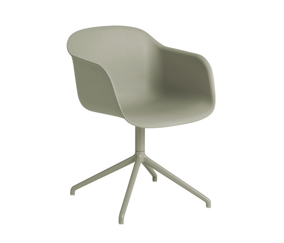 Fiber Armchair | swivel base de Muuto | Chaises