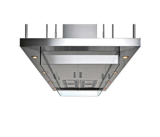 Extraction Systems | Convivium island hood by Arclinea | Kitchen hoods