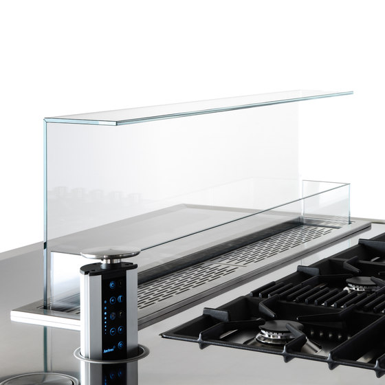 Extraction Systems | Hide hood for top by Arclinea | Kitchen hoods