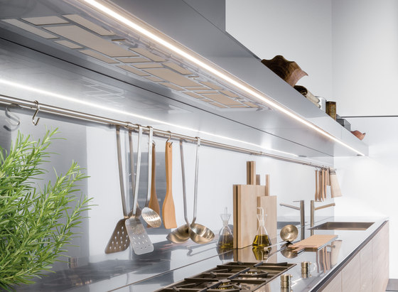 Extraction Systems | Shelf hood by Arclinea | Kitchen hoods