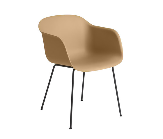 Fiber Armchair | tube base by Muuto | Chairs