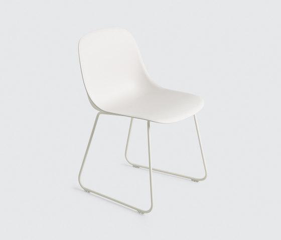 Fiber Side Chair | sled base de Muuto | Chaises